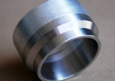 friction-weld-stainless-ring-to-aluminum